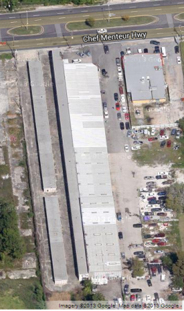 7310 Chef Menteur Highway New Orleans, LA 70126 - Aerial View