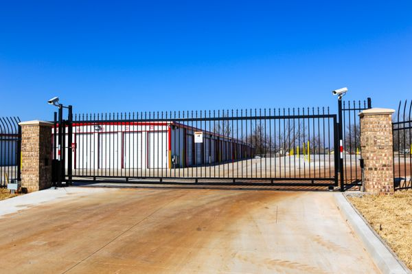 827 North Douglas Boulevard Midwest City, OK 73130 - Security Gate