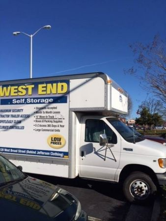 9120 West Broad Street Henrico, VA 23294 - Moving Truck