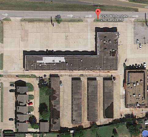 2250 West Interstate 240 Service Road Oklahoma City, OK 73159 - Aerial view