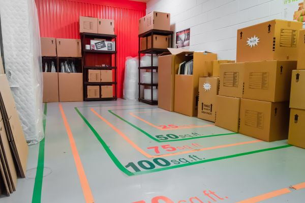 5305 Peachtree Boulevard Chamblee, GA 30341 - Moving/Shipping Supplies|Interior of a Unit