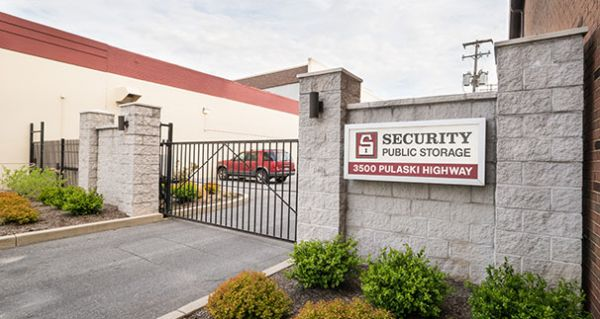 3500 Pulaski Highway Baltimore, MD 21224 - Security Gate|Signage