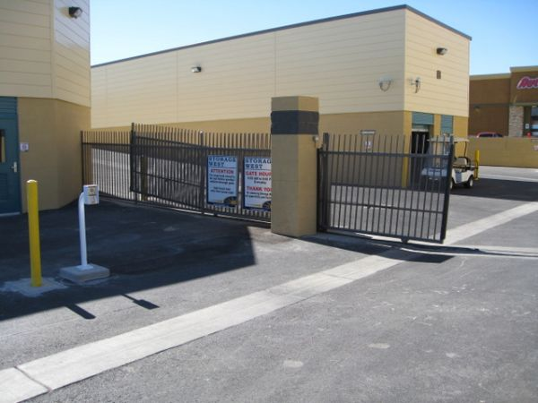 9325 W Russell Rd Las Vegas, NV 89148 - Security Gate
