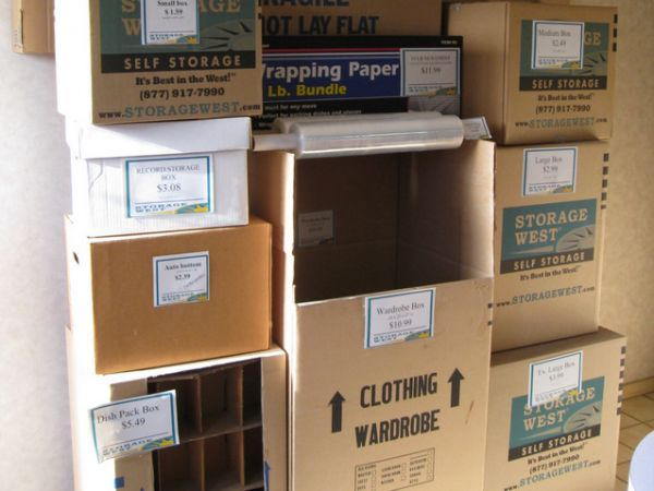 10715 Scripps Ranch Blvd San Diego, CA 92131 - Moving/Shipping Supplies