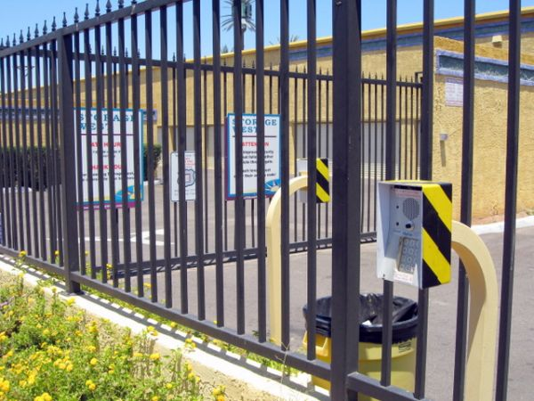 1450 S Mcclintock Dr Tempe, AZ 85281 - Security Gate