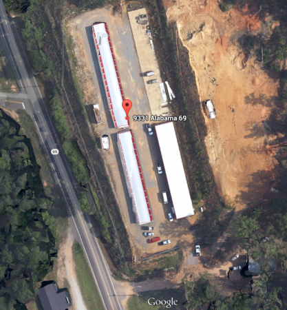 9331 Highway 69 Northport, AL 35473 - Aerial View