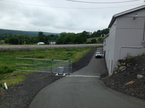 1314 Beaver Valley Road Stroudsburg, PA 18360 - Security Gate|Drive-up Units|Driving Aisle