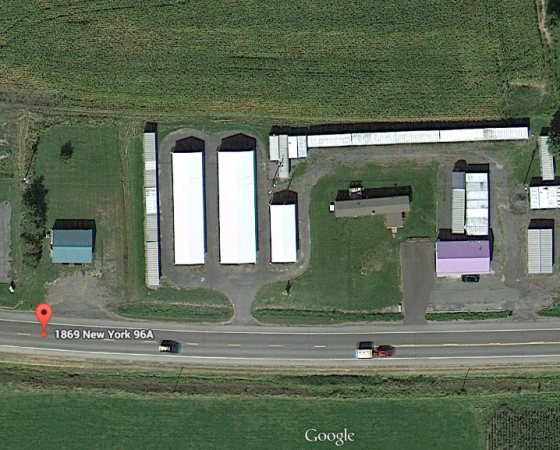 1869 Route 96a Ovid, NY 14521 - Aerial View