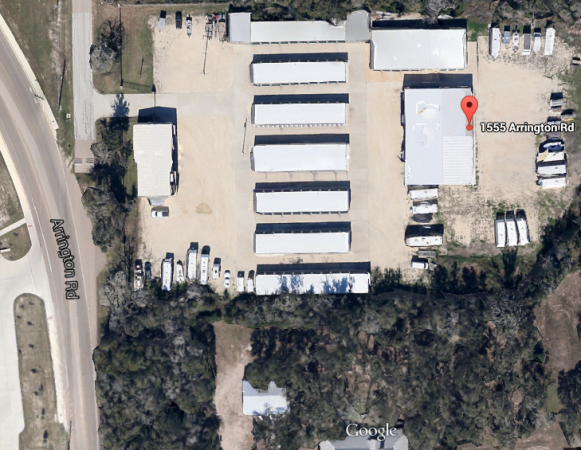 1555 Arrington Road College Station, TX 77845 - Aerial View