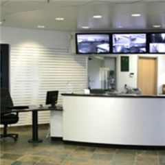 19106 South Normandie Avenue Torrance, CA 90502 - Front Office Interior|Security Monitor