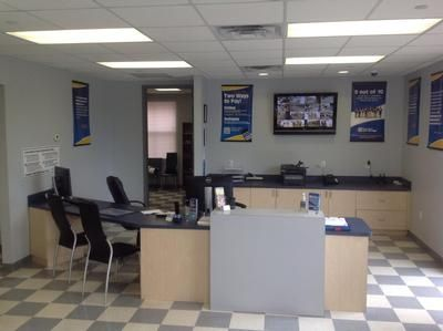 10111 Gandy Boulevard North St. Petersburg, FL 33702 - Security Monitor|Front Office Interior