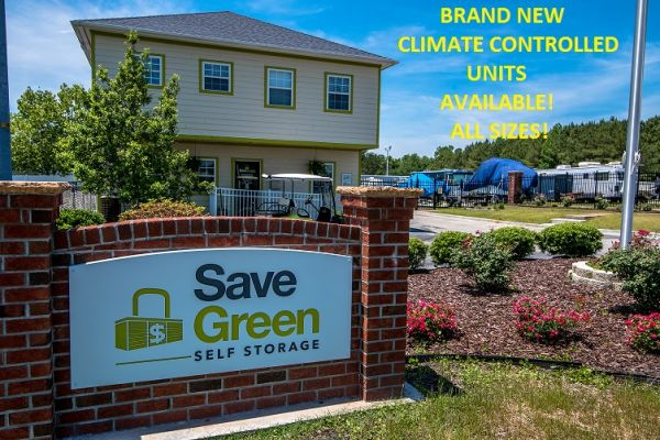 Save Green Self Storage  3311 Enterprise Dr  Wilmington, NC (North Chase)