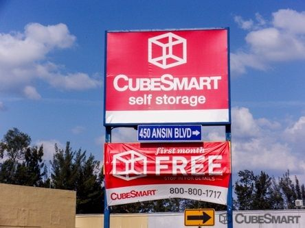 CubeSmart Self Storage   Hallandale Beach   450 Ansin Boulevard   450 Ansin  Boulevard