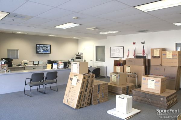15237 South Brand Blvd Mission Hills, CA 91345 - Front Office Interior|Moving/Shipping Supplies