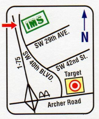 2707 SW 40th Blvd Gainesville, FL 32608 - Map