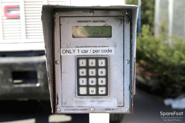 100 Southampton St Boston, MA 02118 - Security Keypad