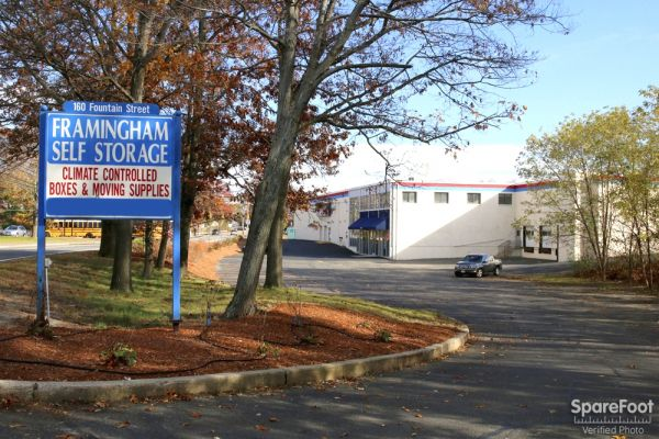 160 Fountain St Framingham, MA 01702 - Road Frontage|Signage