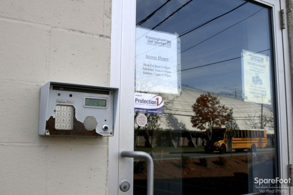 160 Fountain St Framingham, MA 01702 - Security Keypad