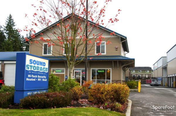 Sound Storage of Mill Creek & 15 Cheap Self-Storage Units Marysville WA w/ Prices from $19/month