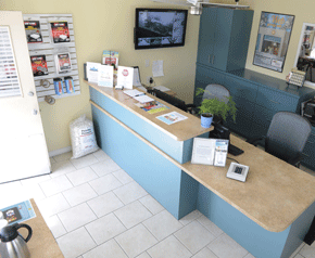 1650 W Winton Ave Hayward, CA 94545 - Front Office Interior