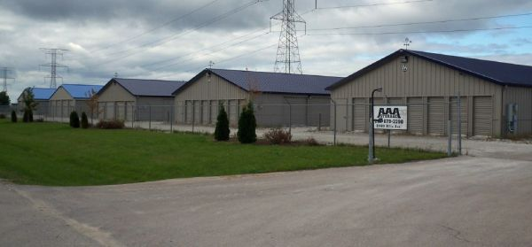 21400 Allis Ave Franksville, WI 53126 - Security Gate|Drive-up Units
