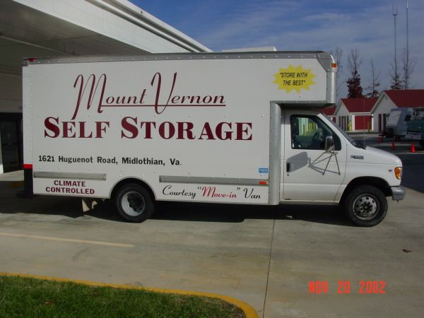1621 HUGUENOT ROAD MIDLOTHIAN, VA 23113 - Moving Truck