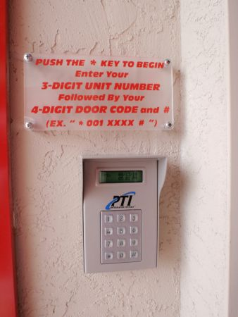 5135 North Harbor Drive San Diego, CA 92106 - Security Keypad