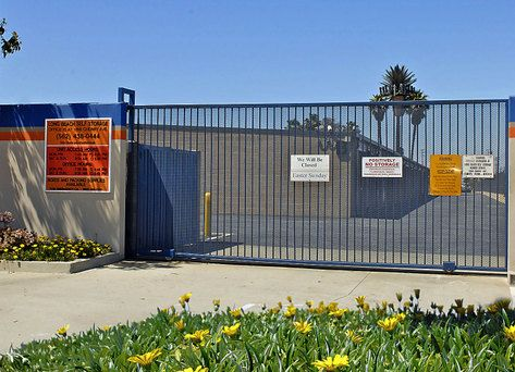 1856 Cherry Ave Long Beach, CA 90806 - Security Gate