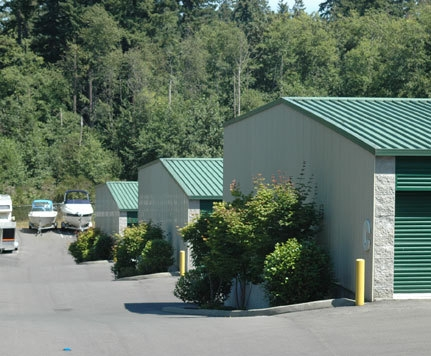 Bainbridge Self Storage - 9300 Sportsman Club Rd NE, Bainbridge Island WA 98110 - Drive-up Units