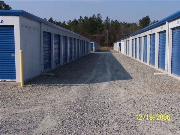 Security Mini Storage - Snow Hill - 65 Perry Dr, Snow Hill NC 28580 - Driving Aisle · Drive-up Units
