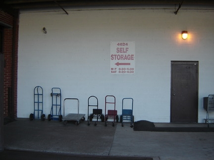 Self Storage LLC - 4624 South Blvd, Charlotte NC 28209 - Hand Dolly