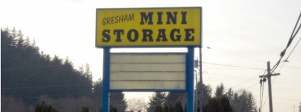 Northwest Self Storage - 2660 Nw Division St, Gresham OR 97030 - Signage