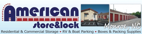 American Store & Lock #6 - 1913 Skyway Dr, Monroe NC 28110 - Company Logo