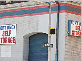 Fort Knox Self Storage - Baltimore - 211 E Pleasant St, Baltimore MD 21202 - Storefront