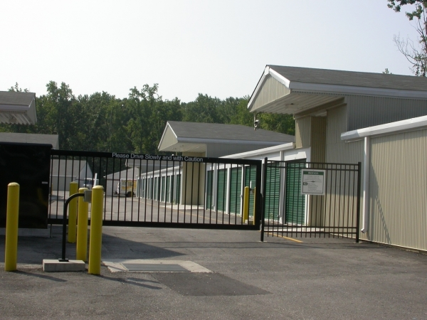 Enon Self Storage - 14511 Golden Garden Parkway, Chester VA 23836 - Security Gate