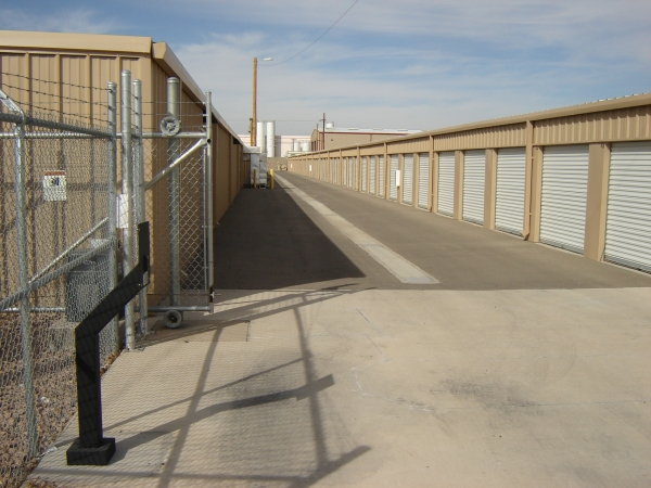 Capstone Self Storage - 5823 Lexington Dr, El Paso TX 79924 - Driving Aisle
