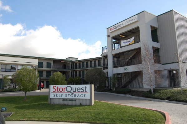StorQuest Self Storage - 55 Golden Gate Dr, San Rafael CA 94901 - Storefront