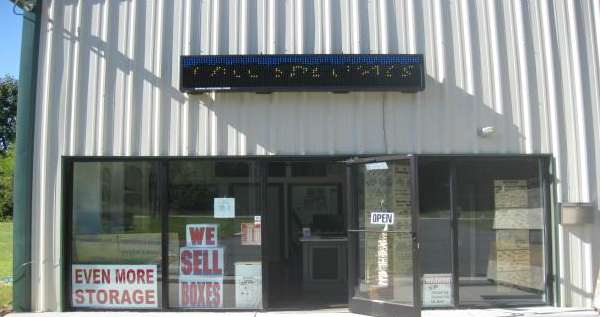 Even More Storage - 6753 Waxhaw Hwy, Lancaster SC 29720 - Moving/Shipping Supplies · Storefront