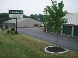 The Storage Center on 512 - 340 North Walnut Street, Bath PA 18014 - Drive-up Units · Driving Aisle