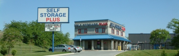 Self Storage Plus - Boston Street - 1100 Interstate Avenue, Baltimore MD 21224 - Storefront
