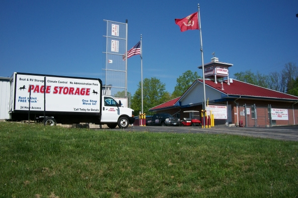 Page Storage - 2149 Ruckert Avenue, St. Louis MO 63114 - Moving Truck