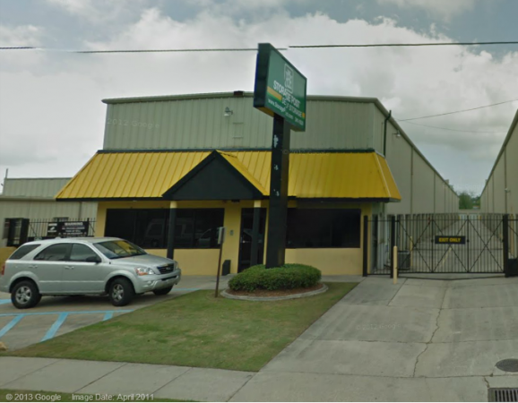 Central Self Storage - Harvey - 2520 Destrehan Avenue, Harvey LA 70058 - Storefront