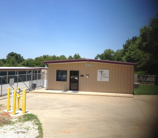 Highway 45 Tower Self Storage - 4378 E Mission Blvd, Fayetteville AR 72703 - Storefront · Security Gate