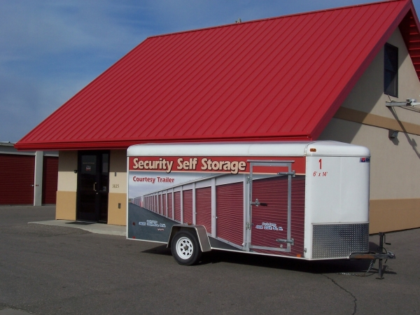 Security Self Storage South - 3825 34th Ave S, Fargo ND 58104 - Storefront