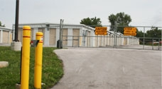 SS & B Storage - 2631 West Bennett Street, Springfield MO 65807 - Security Gate