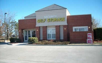 Security Self Storage - Blackbob - 13371 South Blackbob Road, Olathe KS 66062 - Storefront