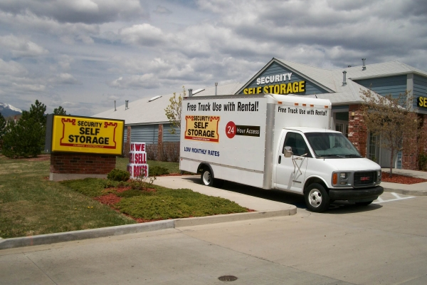 Security Self Storage - Pikes Peak - 3760 East Pikes Peak Avenue, Colorado Springs CO 80909 - Road Frontage
