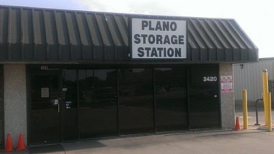 Plano Storage Station - 3420 14th Street, Plano TX 75074 - Storefront
