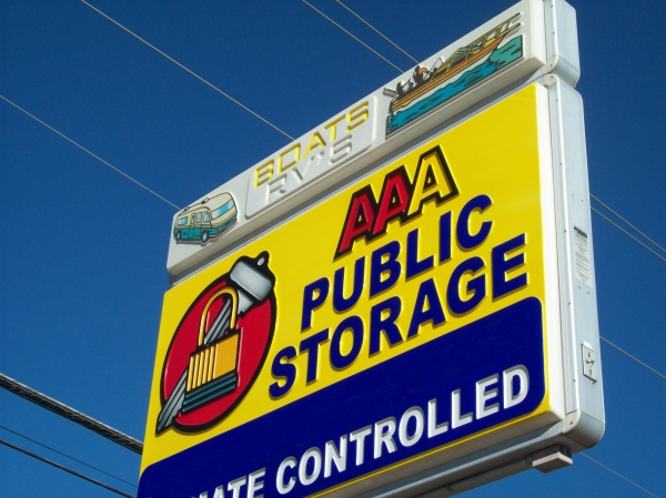 AAA Public Storage - 3204 14th Street, Plano TX 75074 - Signage