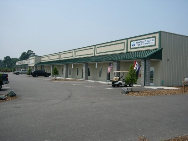 Weeksville Secure Self Storage - 1910 Weeksville Road, Elizabeth City NC 27909 - Storefront